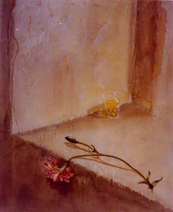 Nostalgie - huile sur toile - 100x81 - 1998