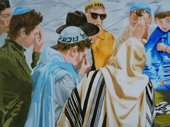 Ecoute - huile sur toile 97 x 130 - 2008