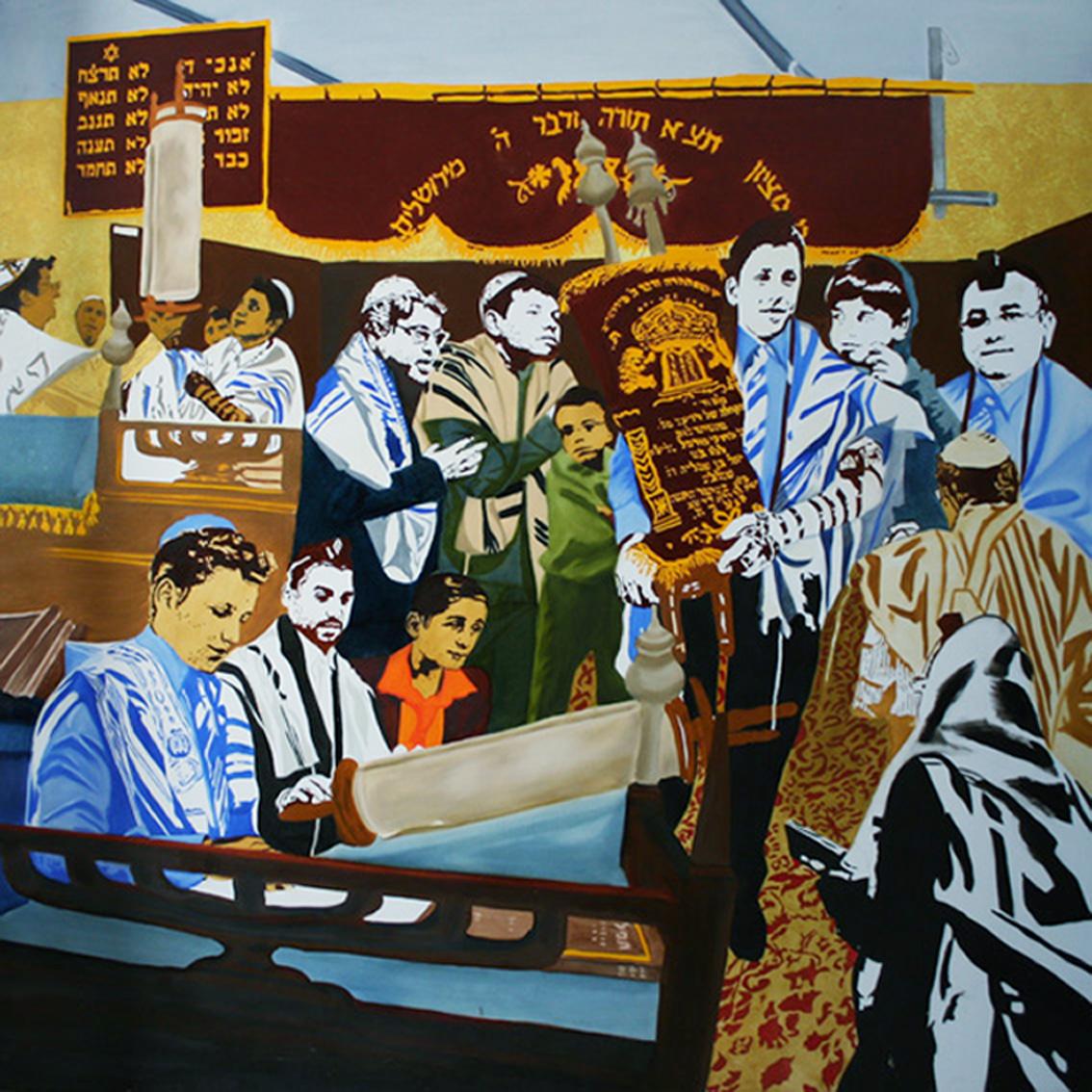 Jonat - Huile sur toile 150 x 150 - 2007/2008 collection particulière