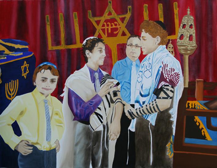 Majorité 2 - huile sur toile 114 x 146 - 2009/2010 collection particulière