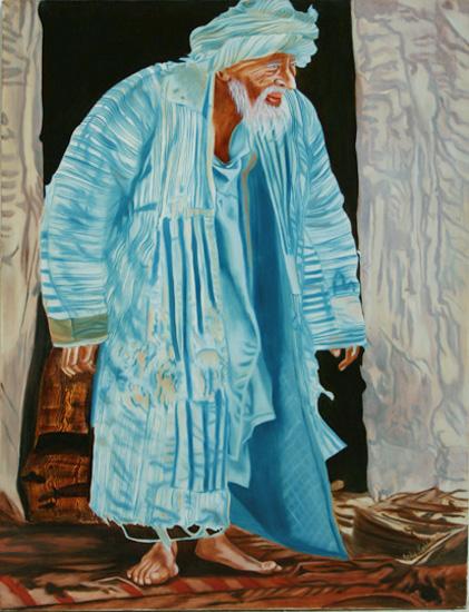 L'ancien - huile sur toile 130 x 097 - 2004