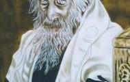 Prière - Huile sur toile 100 x 081 - 2001