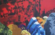 Sacrifice - huile sur toile 130 x 081 - 2004/2005