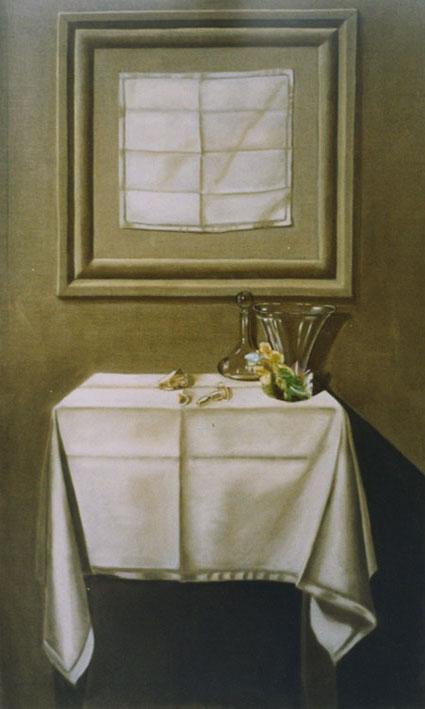 4 Années de Bonheur - huile sur toile 130 x 089  -  1999  collection particulière