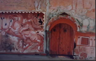 La Boite - huile sur toile 073 x 100  1998  collection particulière