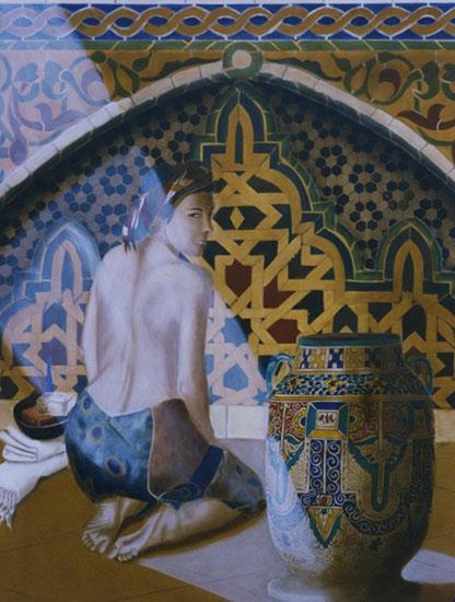 Constance - huile sur toile 146x114 collection particulière - 1999