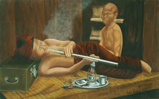 Evasion huile sur toile 081 x 130 - 2000