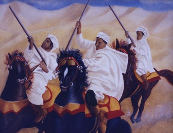Fantasia - huile sur toile 081 x 105  1999