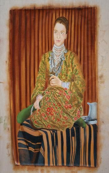 Isabelle - huile sur toile 190 x 120