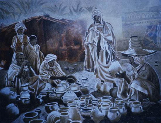 l'Art de Terre - huile sur toile 089 x 116  1999