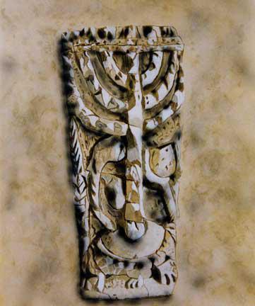 Chandelier - acrylique sur toile - 1998 collection particulière