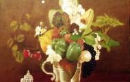 Les Poivrons - huile sur toile - 1998