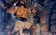 Samson - huile sur toile 097 x 130
