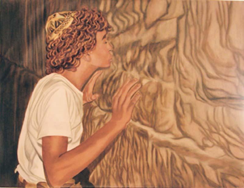 Serment - huile sur toile 089 x 114 - 2000 collection particulière