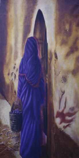 Souhait - huile sur toile 160 x 080 2000/2001 collection particulière