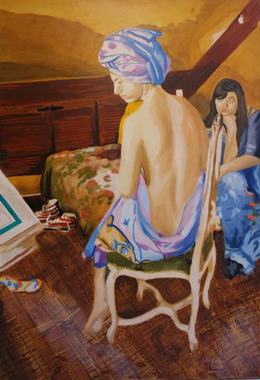 Favorite - huile sur toile 130 x 097 - 2006