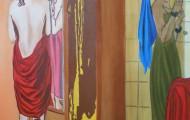 Le Reflet - huile sur toile 146 x 114