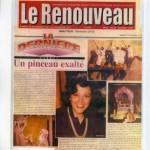 Le Renouveau Décembre 1998