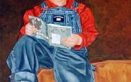 David - huile sur toile 100 x 073 - cp