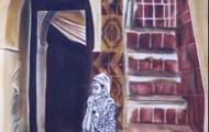 Senteur Jasmin - huile sur toile 160 x 080