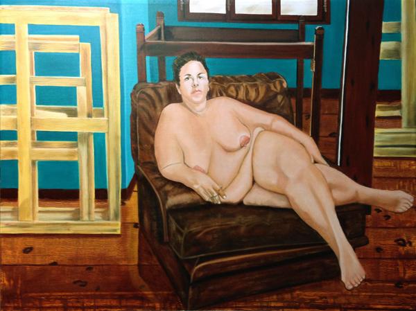 Maria - huile sur toile - 130x097 - 2014/2015