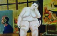 Opulence - huile sur toile - 100x083 - 2014
