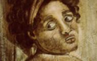 A la manière de... - technique fresque sur isorel  - 50x50 - 1999
