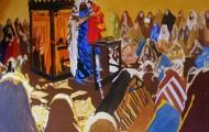 L'Etude - huile sur toile 130 x 162 - 2007/2008