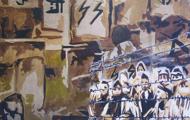 La Honte - Huile sur toile 116 x 089 - 2004