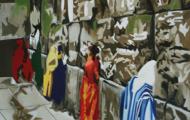Memoire - Huile sur toile 130 x 97 - 2004