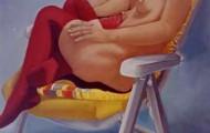 Les Bas-Rouges - huile sur toile - 1999