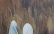 Confidence - huile sur toile 150 x 050 - 2003