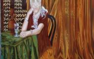 Isabelle - huile sur toile 146 x 114