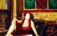 Romina- huile sur toile 130 x 89