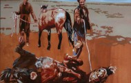 Soumission - huile sur toile 097 x 130