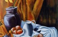 le Tournesol - acrylique sur toile - 130 X 097 - 1998