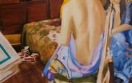 désillusion - huile sur toile 130 x 097