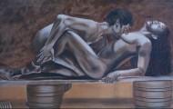 Passion - huile sur toile 097 x 162 - 2001