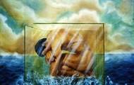 Un Jour Ailleurs - huile sur toile 150 x 150 - 1999