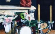 La Pomme - acrylique sur toile 130 x 097 - 1997