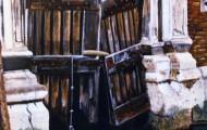 Porte de Venise - acrylique sur toile 146 x 114 - 1999