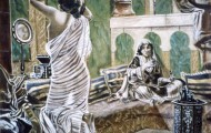 Préparatif de la Favorite - huile sur toile 130 x 097 - 1999