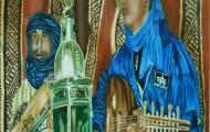 Le Luth - huile sur toile - 146x097 - 2003